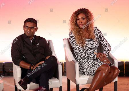 Guru Gowrappan, CEO OF Verizon Media and Professional tennis player and Entrepreneur Serena Williams
