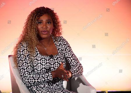 Professional tennis player and Entrepreneur Serena Williams
