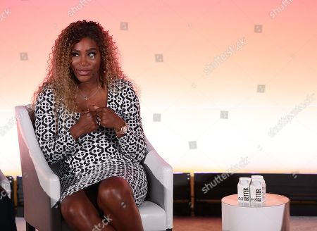 Stock Picture of Professional tennis player and Entrepreneur Serena Williams