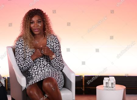 Stock Image of Professional tennis player and Entrepreneur Serena Williams