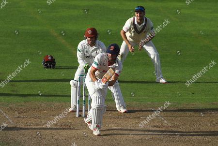 Sir Alastair Cook of Essex hits out in the fourth innings