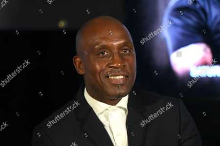 Nigel Benn during a Press Conference at The Steelyard on 26th September 2019