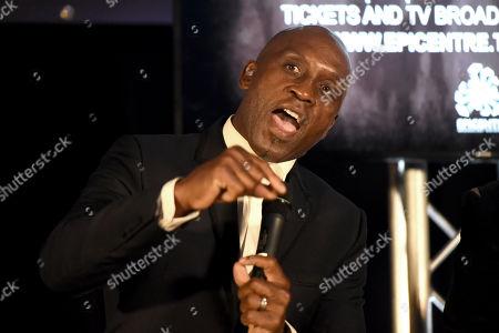 Editorial image of Nigel Benn Press Conference, Boxing, The Steelyard, London, United Kingdom - 26 Sep 2019