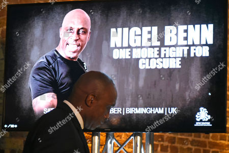 Editorial picture of Nigel Benn Press Conference, Boxing, The Steelyard, London, United Kingdom - 26 Sep 2019