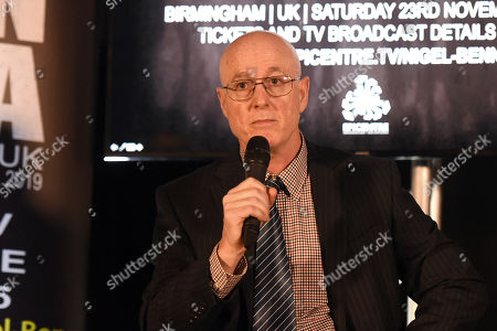 Professor Michael Graham during a Press Conference at The Steelyard on 26th September 2019