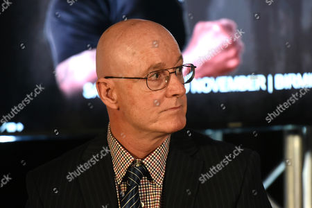 Stock Picture of Professor Michael Graham during a Press Conference at The Steelyard on 26th September 2019