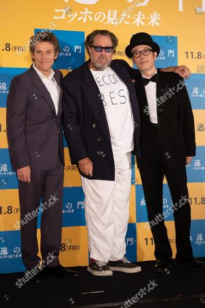 Editorial photo of 'At Eternity's Gate Stage' film photocall, Tokyo, Japan - 26 Sep 2019