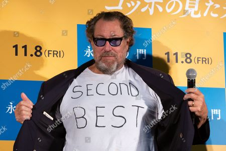 Julian Schnabel during a stage greeting