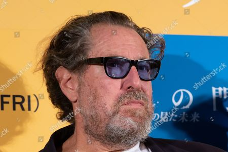 Stock Photo of Julian Schnabel during a stage greeting