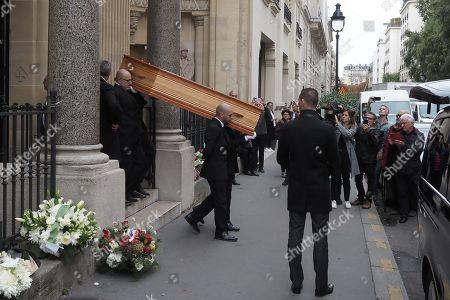 Funeral of Charles Gerard