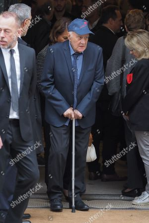 Editorial photo of Funeral of Charles Gerard, Paris, France - 26 Sep 2019