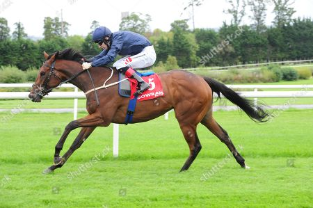 GOWRAN PARK EVEN SO and Colin Keane win the Irish Stallion Farms EBF Fillies Maiden. Healy Racing
