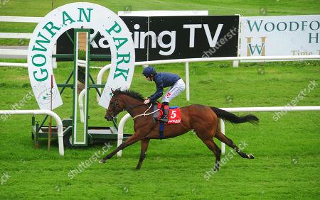 GOWRAN PARK EVEN SO and Colin Keane win thr Irish Stallion Farms EBF Fillies Maiden.
