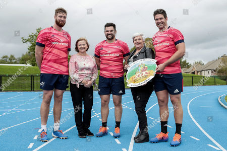 Editorial picture of Launch Of Munster Rugby's 2019/20 Nominated Charity Partnership  - 26 Sep 2019