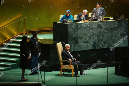 Editorial image of UN General Assembly - 26 Sep 2019