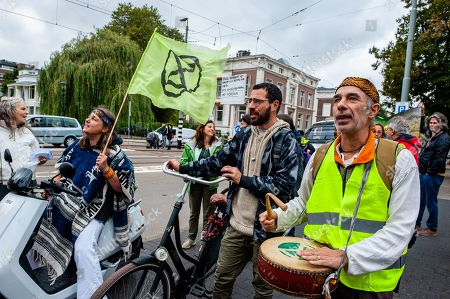 Editorial picture of Demonstration against Bolsonaro in The Hague, Netherlands - 25 Sep 2019