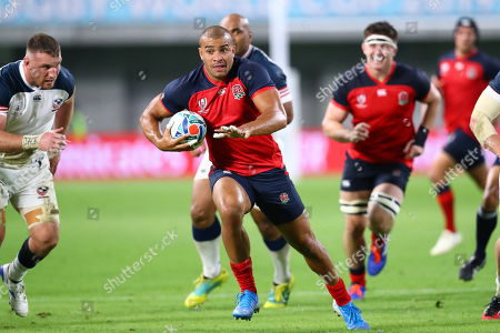Editorial picture of England v USA, Rugby World Cup match, Kobe Misaki Stadium, Japan - 26 Sep 2019