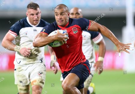 Stock Image of Jonathan Joseph in action during the match
