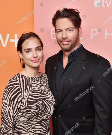 In recognition of Apple's commitment to protecting the planet, Charlotte Connick and Harry Connick Jr., attend the premiere of Apple's acclaimed documentary, 'The Elephant Queen', at The Metrograph in New York on September 25, 2019.