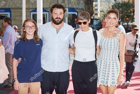 Delphine Lehericey, Laetitia Casta and guests