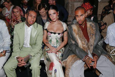 Tyga, Halsey and Vic Mensa