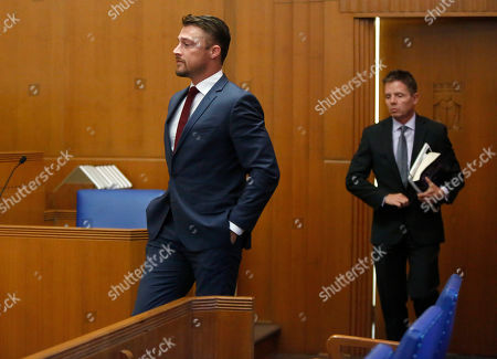 Editorial picture of Chris Soules hearing, Iowa, USA - 26 Sep 2019