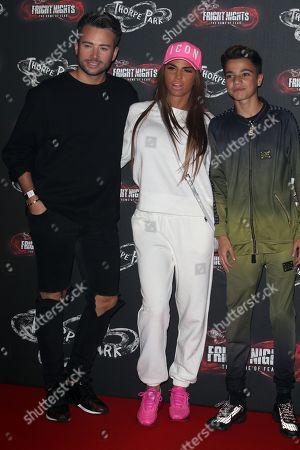 Katie Price, Junior Andre and guest