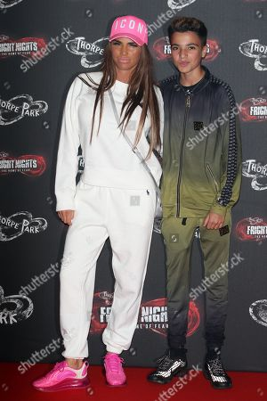 Katie Price and Junior Andre