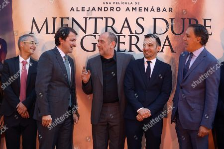 Editorial picture of 'While at War' premiere in Salamanca, Spain - 26 Sep 2019