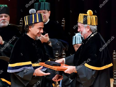 Editorial image of Honoris causa by the UNAM of Mexico, Mexico City - 26 Sep 2019