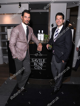 Editorial photo of Savile Row Gin Launch, Gieves & Hawkes, London, UK - 26 Sep 2019