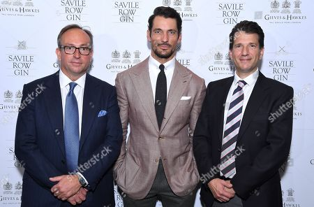 Editorial image of Savile Row Gin Launch, Gieves & Hawkes, London, UK - 26 Sep 2019