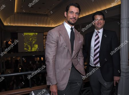 Editorial picture of Savile Row Gin Launch, Gieves & Hawkes, London, UK - 26 Sep 2019