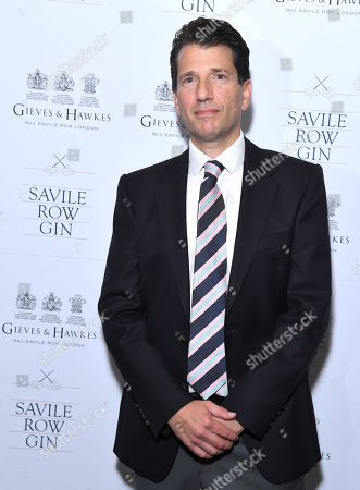 Savile Row Gin CEO and founder Stewart Lee
