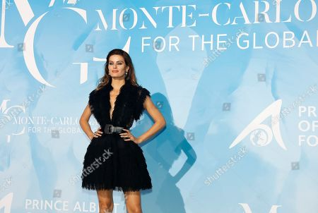 Stock Picture of Brazilian model Isabeli Fontana attends the 3rd Monte-Carlo Gala for the Global Ocean 2019 in Monaco, 26 September 2019. The Monte Carlo Gala for the Global Ocean, hosted by the Prince Albert II of Monaco Foundation, is a fundraising auction, to support the foundation's marine conservation initiatives.
