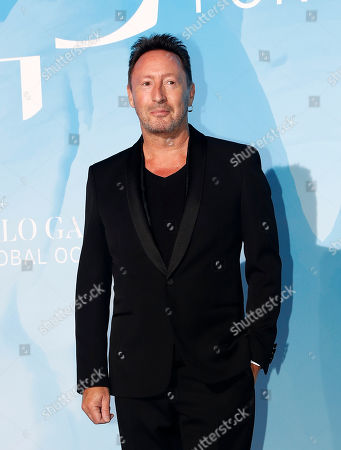 British musician Julian Lennon attends the 3rd Monte-Carlo Gala for the Global Ocean 2019 in Monaco, 26 September 2019. The Monte Carlo Gala for the Global Ocean, hosted by the Prince Albert II of Monaco Foundation, is a fundraising auction, to support the foundation's marine conservation initiatives.