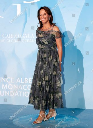 French former Minister for Ecology Segolene Royal attends the 3rd Monte-Carlo Gala for the Global Ocean 2019 in Monaco, 26 September 2019. The Monte Carlo Gala for the Global Ocean, hosted by the Prince Albert II of Monaco Foundation, is a fundraising auction, to support the foundation's marine conservation initiatives.