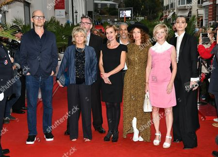 Daniele Thompson, James Watkins, Sandrine Bonnaire, Michael Caton Jones, Aurelie Saada, Jane Horrocks, Sveva Alviti, Sami Bouajila and Raphael Personnaz