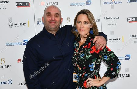 Shane Meadows and Helen Behan