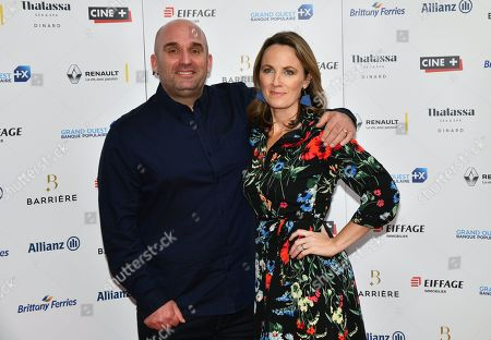 Stock Picture of Shane Meadows and Helen Behan