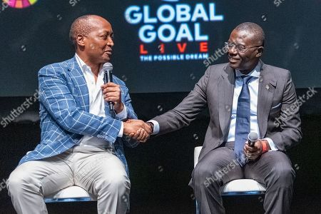 Editorial photo of Global Goal Live: The Possible Dream press conference, New York, USA - 26 Sep 2019