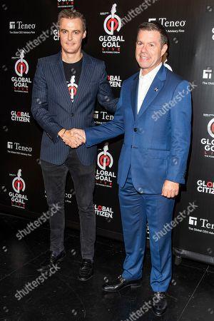 Hugh Evans and Declan Kelly