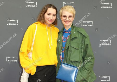 Stock Photo of Emma Atwell and Susann Atwell