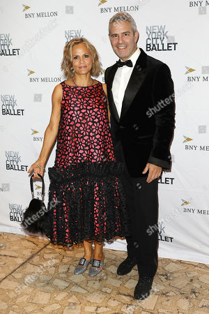 Stock Image of Amy Sedaris and Andy Cohen