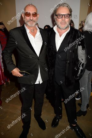 Stock Photo of Tony Glenville and David Downton