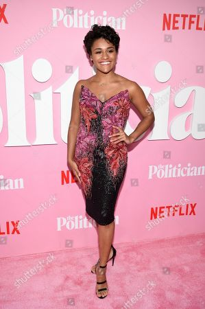 "Ariana DeBose attends the premiere of Netflix's ""The Politician"" at the DGA New York Theater, in New York"