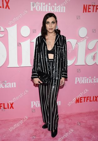 """Natalie Walker attends the premiere of Netflix's """"The Politician"""" at the DGA New York Theater, in New York"""