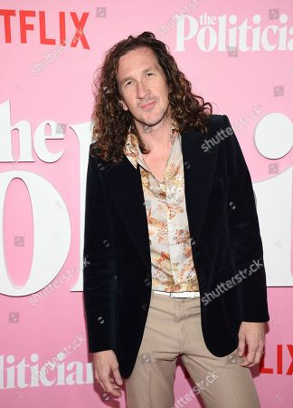 """Creator/writer/director Ian Brennan attends the premiere of Netflix's """"The Politician"""" at the DGA New York Theater, in New York"""