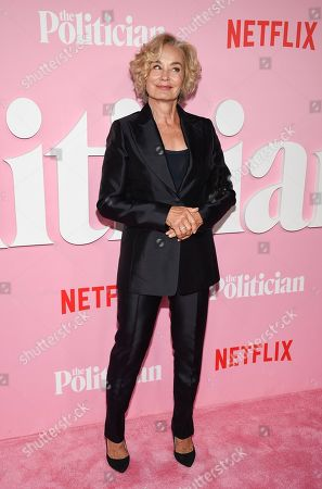 "Jessica Lange attends the premiere of Netflix's ""The Politician"" at the DGA New York Theater, in New York"