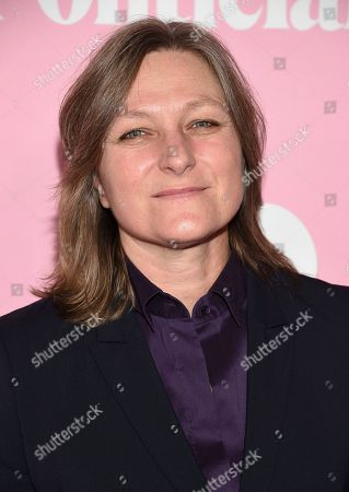 """Netflix VP content acquisition and original series Cindy Holland attends the premiere of Netflix's """"The Politician"""" at the DGA New York Theater, in New York"""